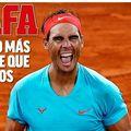 Marca, AS, Mundo Deportivo sau L'Equipe au pregătit câteva pagini întâi de colecție în cinstea marelui campion iberic