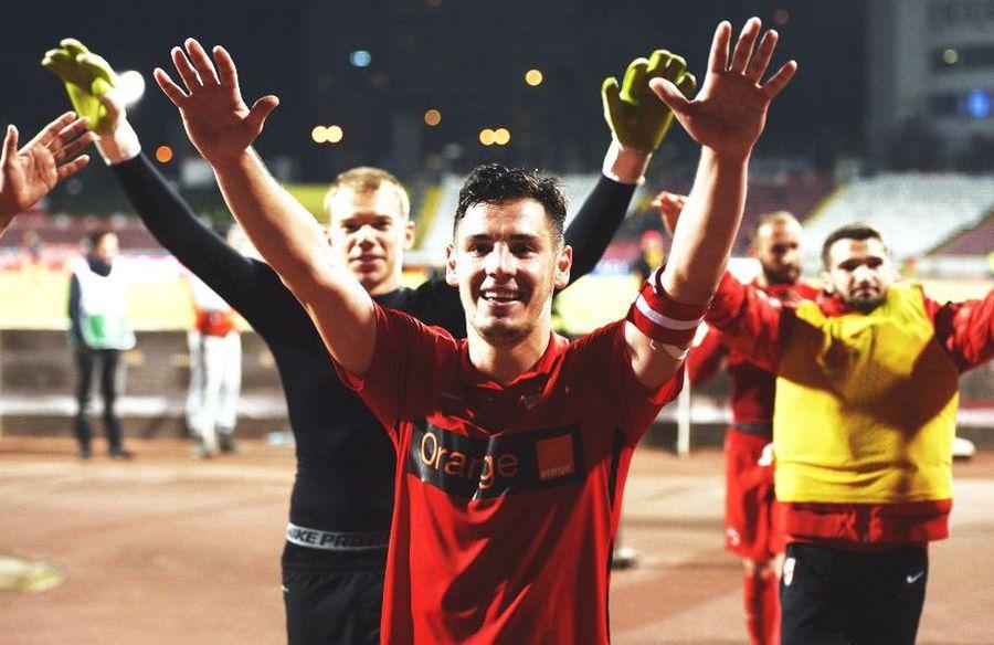 Paul Anton a mai purtat banderola lui Dinamo și în urmă cu 3 ani