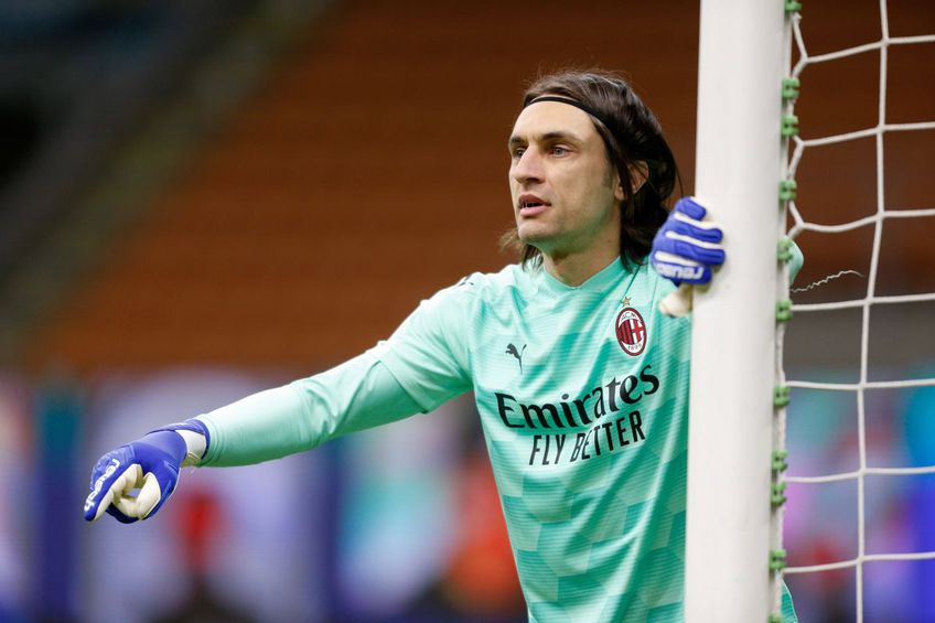 Ciprian Tătărușanu (35 de ani) va apăra poarta lui AC Milan în următoarele două săptămâni, întrucât titularul postului, Mike Maignan (26), este indisponibil.