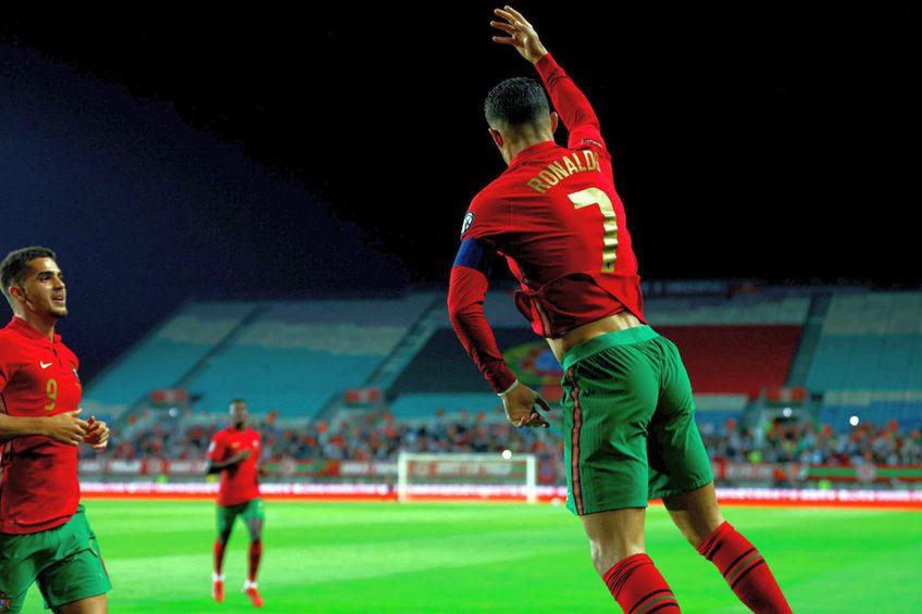 Cristiano Ronaldo nu are limite la echipa națională / Sursă foto: Portugal @selecaoportugal