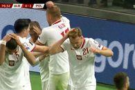 Incidente grave și în Albania - Polonia, meci întrerupt timp de 20 minute