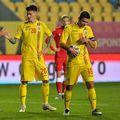 George Pușcaș a obținut un penalty în România - Belarus, transformat de Răzvan Marin