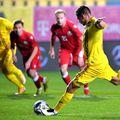 Răzvan Marin a înscris din penalty în România - Belarus 5-3
