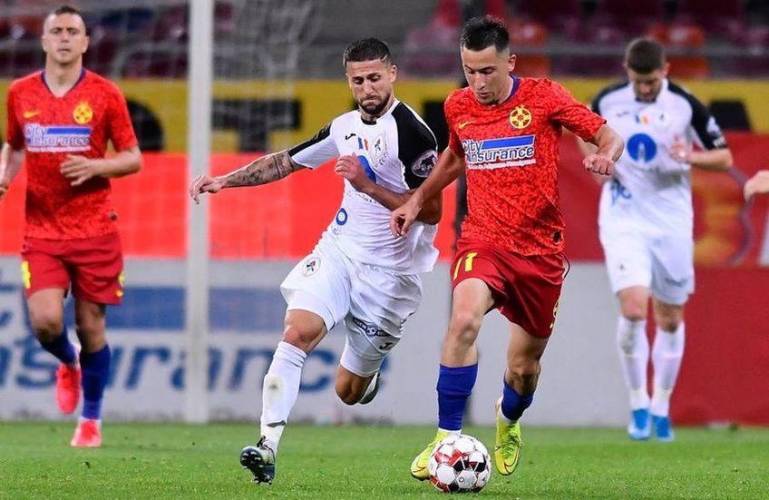 Meciul Gaz Metan - FCSB încheie runda #11 din Liga 1