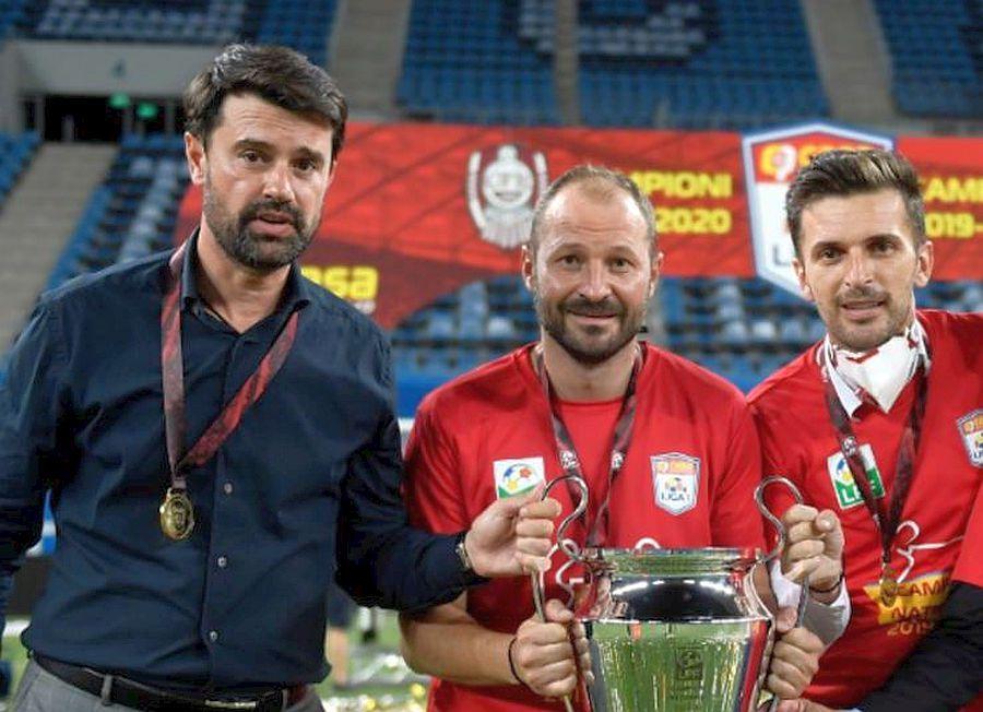 Marian Copilu a fost decisiv în succesul lui CFR Cluj