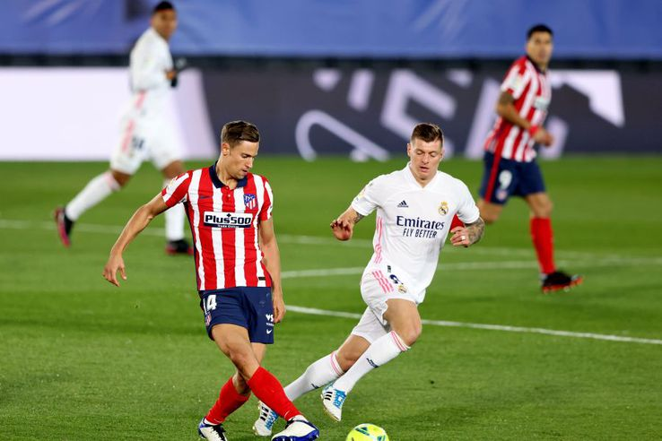 Real Madrid - Atletico Madrid. foto: Guliver/Getty Images