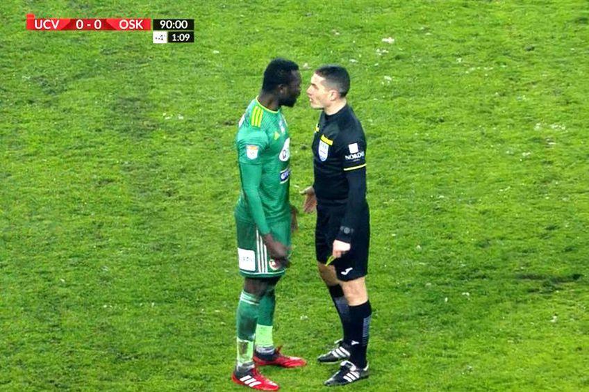 Disputa dintre Boubacar Fofana și arbitrul Istvan Kovacs
