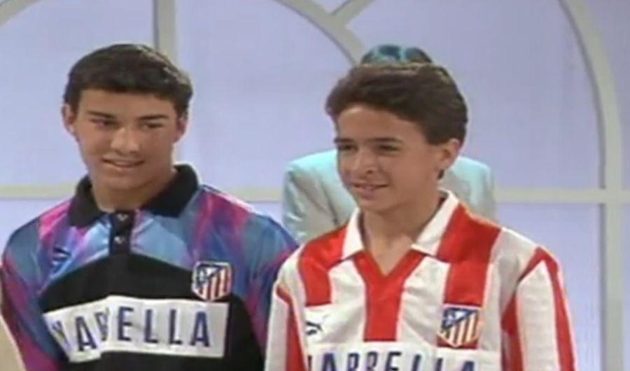 Raul, pe vremea când evolua pentru juniorii lui Atletico Madrid