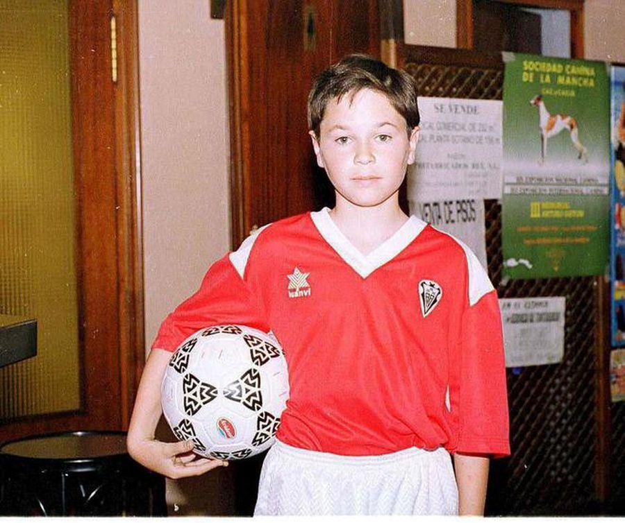 Andres Iniesta, pe vremea când se uita doar la meciurile lui Real Madrid