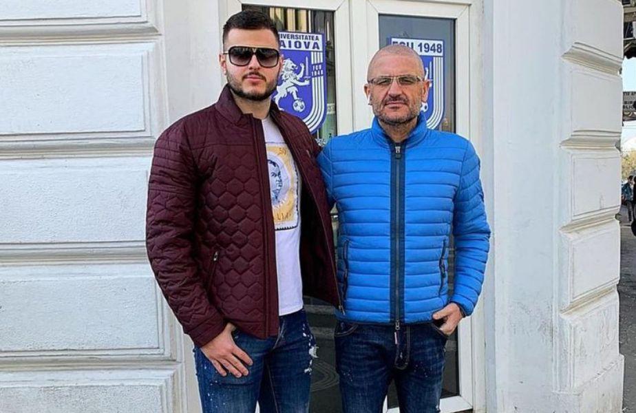 Adrian Mititelu Junior și tatăl său