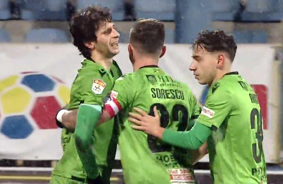 HERMANNSTADT - DINAMO 2-0 Captură TV Telekom Sport