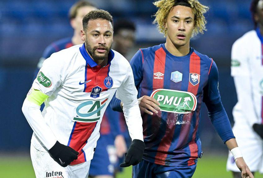 Neymar, stânga, jucător important pentru PSG, foto: Imago