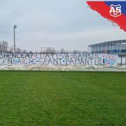Derby-ul orgoliilor dintre CSA Steaua și FCSB II a născut o mobilizare serioasă a ultrașilor din Peluza Sud Steaua / Sursă foto: Facebook AS47