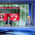 Vlad Măcicășan (primul din stânga), la Fotbal Look // foto: captură YouTube
