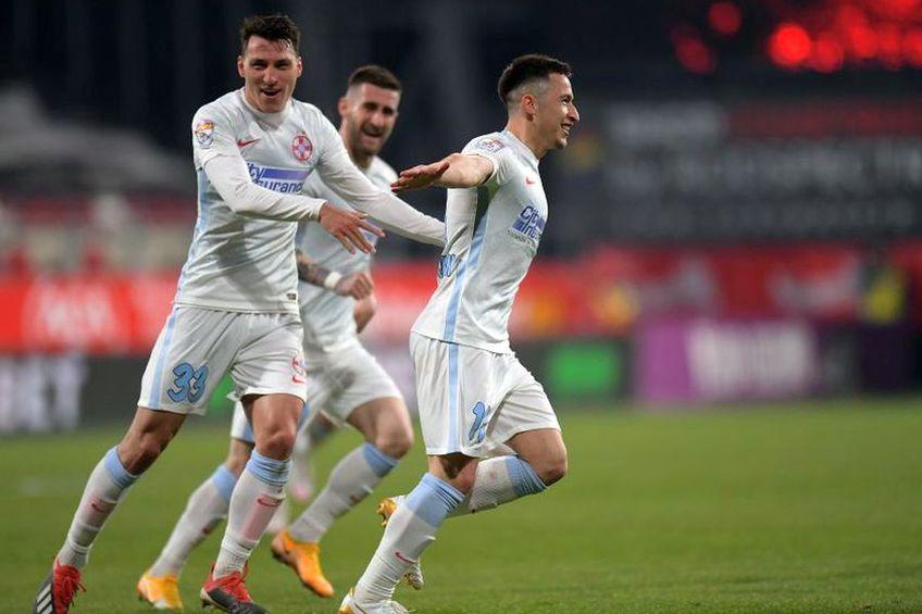 Risto Radunovic a primit cartonașul galben la UTA - FCSB