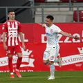 FCSB a învins la limită la Arad, scor 1-0