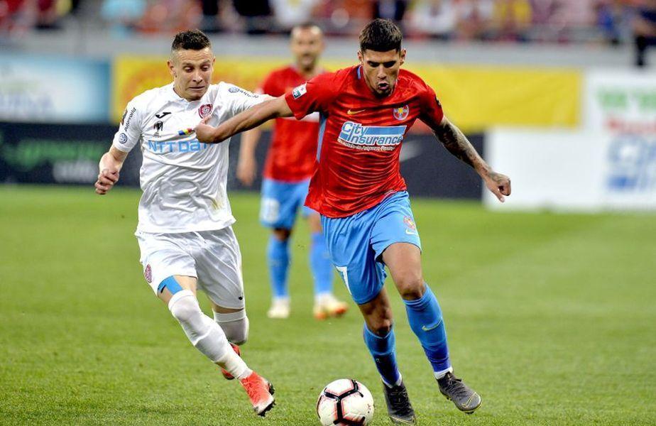 CFR Cluj și FCSB ocupă primele două locuri în Play-off-ul Ligii 1