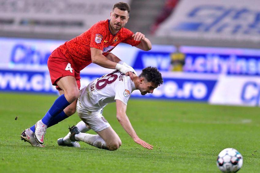 FCSB și CFR Cluj au ocupat primele două poziții în sezonul regulat // foto: Facebook @ FCSB