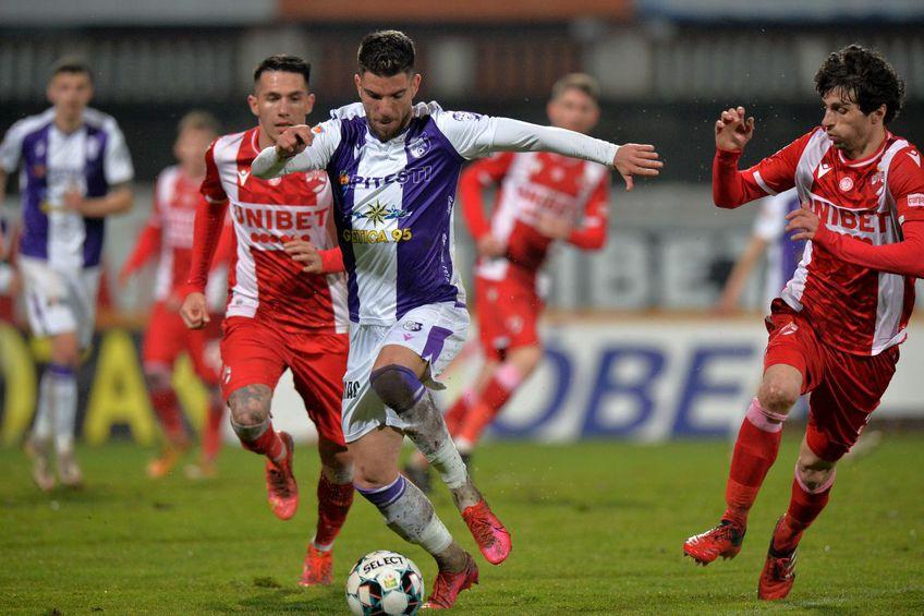 FC Argeș vrea să continue și în play-out evoluțiile solide din acest sezon. FOTO: Cristi Preda
