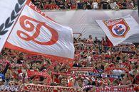 Dinamo a stabilit un record absolut în România! Mai mulți bani din bilete în pandemie