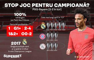 PSG-Bayern! SuperPariuri de la 1.40 la cota 80 și SuperIstoria care așteaptă să fie trăită de tine!