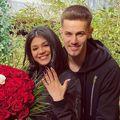 Ricardo Grigore și soția lui, Alexandra Popescu, alături de care va avea un băiețel