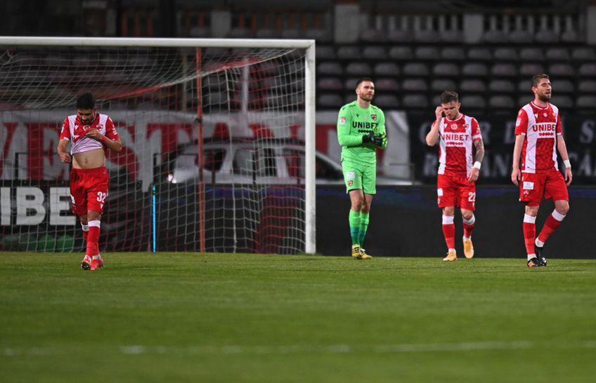 Astra a deschis scorul în partida cu Dinamo, prima semifinală a Cupei României, după o gafă a portarului Gudmund Kongshavn (30 de ani).