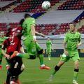 Andreas Mihaiu a cerut penalty în meciul Astra - Dinamo // FOTO: Captură Digi Sport