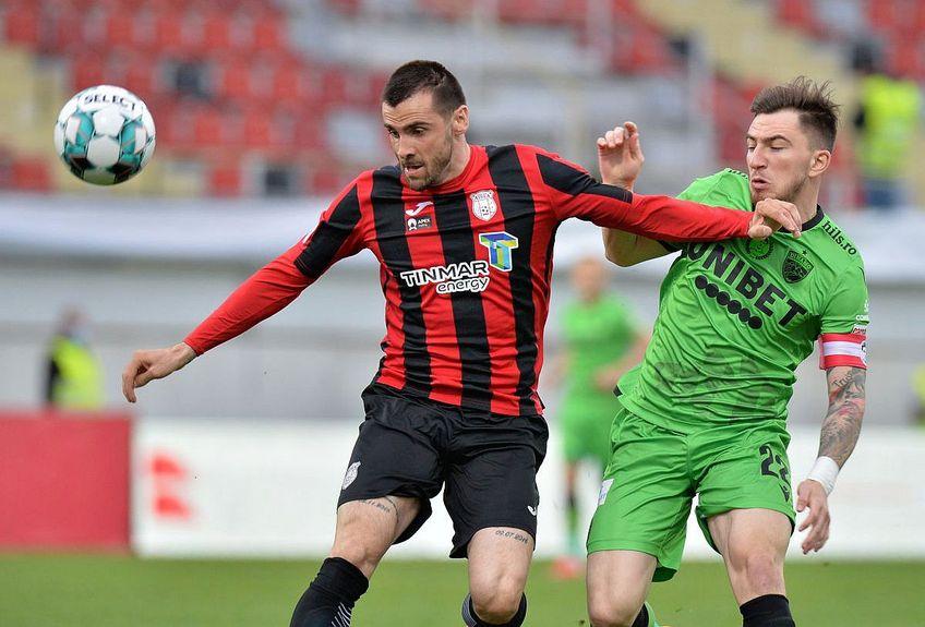 Astra s-a impus pe teren propriu, 1-0 cu Dinamo, în turul semifinalelor Cupei României. // FOTO: Cristi Preda