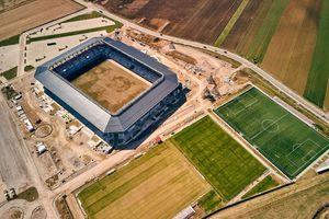 Imagini spectaculoase cu arena de peste 20 milioane de euro care se face în România! Când va avea loc inaugurarea