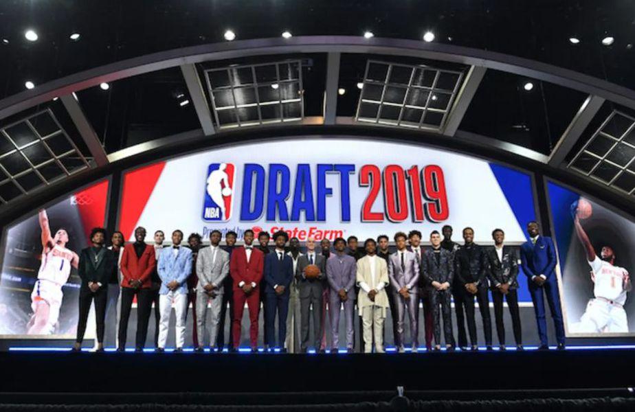 Jucătorii de baschet selectați la draftul NBA din 2019