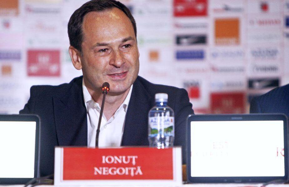 Ionuț Negoiță este aproape de a ajunge la un acord cu Herminio Menendez pentru vânzarea lui Dinamo