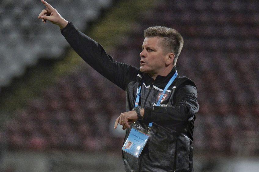Dusan Uhrin jr, antrenor Dinamo // foto: Cristi Preda @ GSP