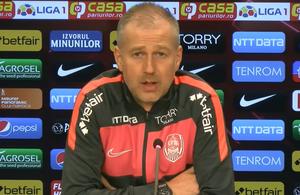 """Edi Iordănescu ia măsuri, după eșecul cu Sepsi: """"Nu am fost naiv când am venit la CFR"""" + comparație inedită cu scuba diving"""