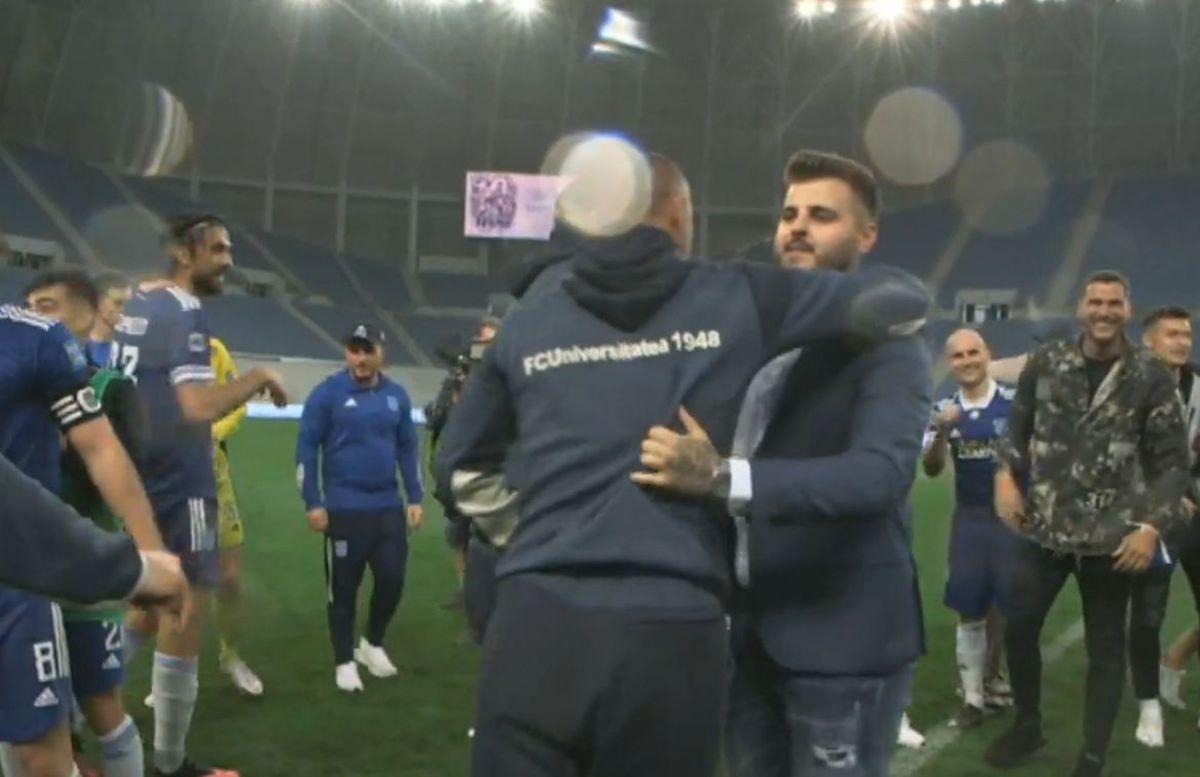 """Căpitanul lui FC U Craiova, """"la cald"""": """"Îi mulțumesc patronului nostru, Adiță"""""""
