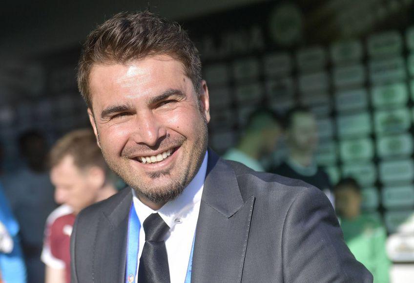 Adrian Mutu, 42 de ani, ar fi dorit de CFR Cluj, care în vară se gândește la o despărțire de actualul antrenor, Edi Iordănescu.