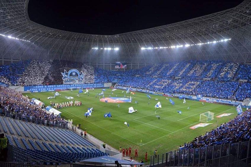"""CS Universitatea Craiova - CFR Cluj, derby-ul rundei #8 din play-off, s-ar putea disputa cu spectatori: 25% din capacitatea stadionului """"Ion Oblemenco"""" (aproximativ 8.000 de suporteri)."""