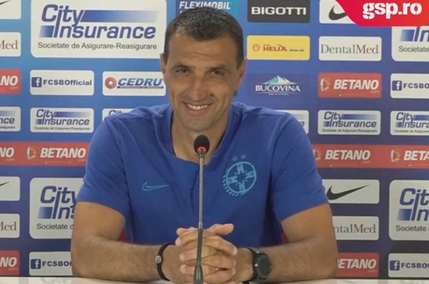 Bogdan Argeș Vintilă, antrenor FCSB