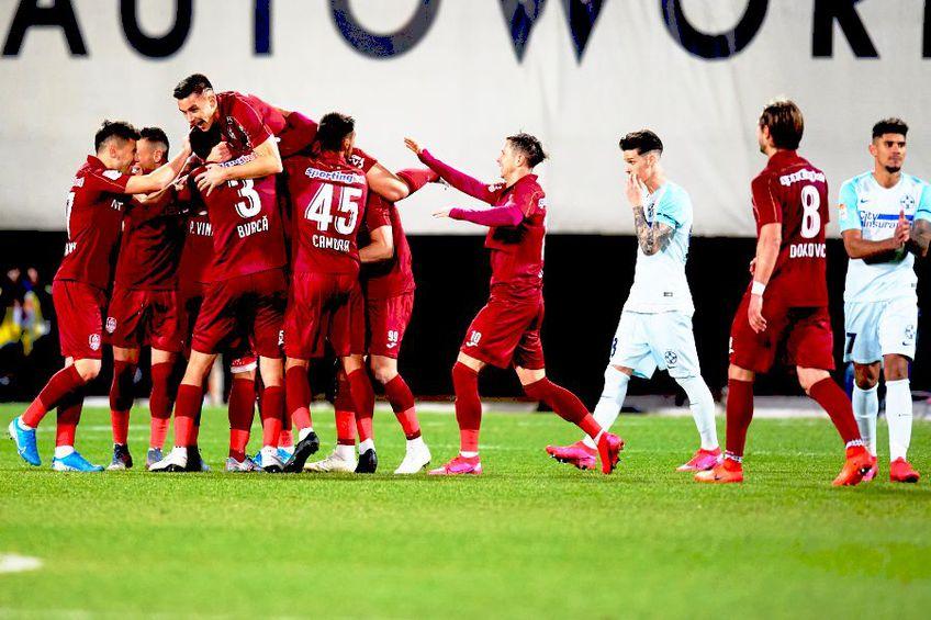 CFR Cluj - FCSB e primul derby de după reluarea campionatului
