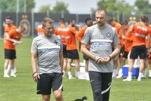 Imagini de la primul antrenament condus de Dinu Todoran la FCSB: jucătorii proaspăt transferați, prezenți