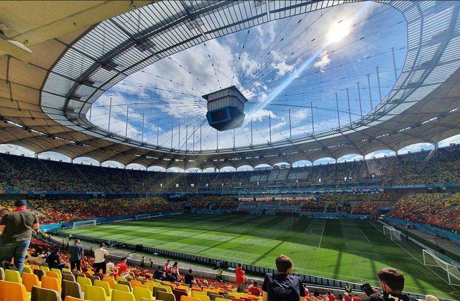 Austria - Macedonia de Nord, pas cu pas spre stadion » Reporterul GSP a urmat traseul fanilor: de la controlul medical, la fluierul de start