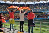 Austria - Macedonia, pas cu pas spre stadion » Un reporter GSP urmează traseul fanilor: aproape 10.000 de oameni pe Arena Națională