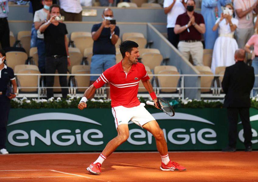 CORESPONDENȚĂ DE LA ROLAND GARROS 2021. Departe de a fi perfect tehnic, jocul lui Novak Djokovici este aproape imbatabil.