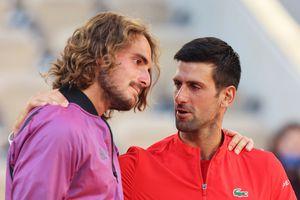 """Djokovic - Tsitsipas, Roland Garros 2021. Momentul controversat care a schimbat soarta finalei » Tsitsipas, în lacrimi: """"Nu știu ce s-a întâmplat acolo"""""""