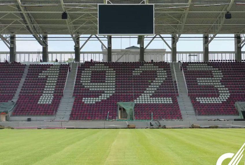Rapid nu poate juca pe noul stadion la startul sezonului de Liga 1, dar are două variante sigure: Giurgiu și Mioveni, plus alte două de avarie: Arena Națională și Arcul de triumf.