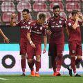 CFR Cluj și Gaz Metan se vor întâlni luni, de la ora 20:30, într-un meci contând pentru etapa a șaptea a play-off-ului Ligii 1.