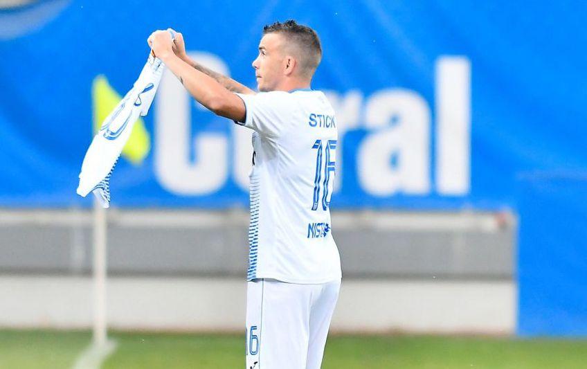 Dan Nistor a marcat în meciul Craiova - FCSB 2-1