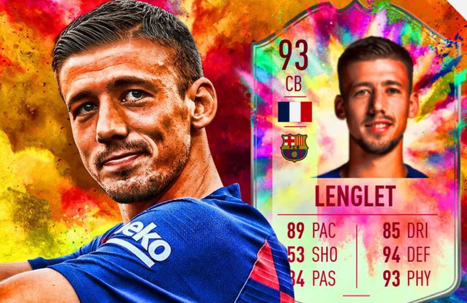 "Clement Lenglet a primit un card excelent în campania ""Summer Heat"" // foto: captură YouTube @ Pokecinema12"