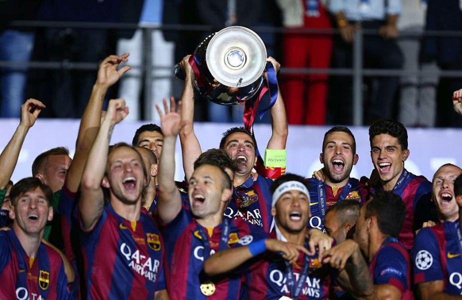 Xavi fost căpitanul Barcelonei la ultima finala Champions League disputată de catalani, în 2015, 3-1 cu Juventus // Sursă foto: Getty