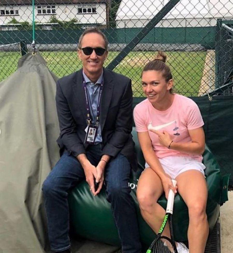 """Daniel Dobre rememorează momentele-cheie ale triumfului Simonei Halep la Wimbledon: """"Am văzut ce înseamnă împlinirea"""""""